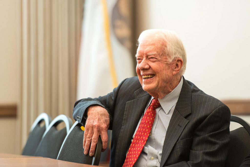 Jimmy Carter, The Humanitarian President who did not survive a second term