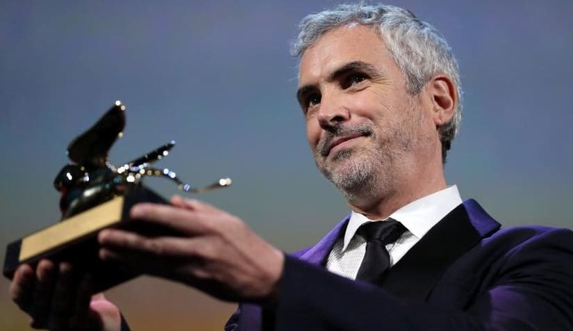 Alfonso Cuaron's 'Roma' wins he 75th Venice International Film Festival Golden Lion Prize and Netflix is back in Competition.