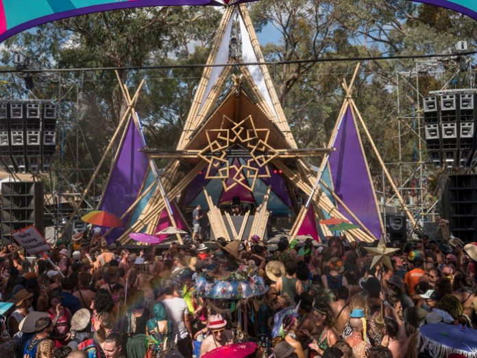 Australia's Rainbow Serpent bags A Greener Festival Award