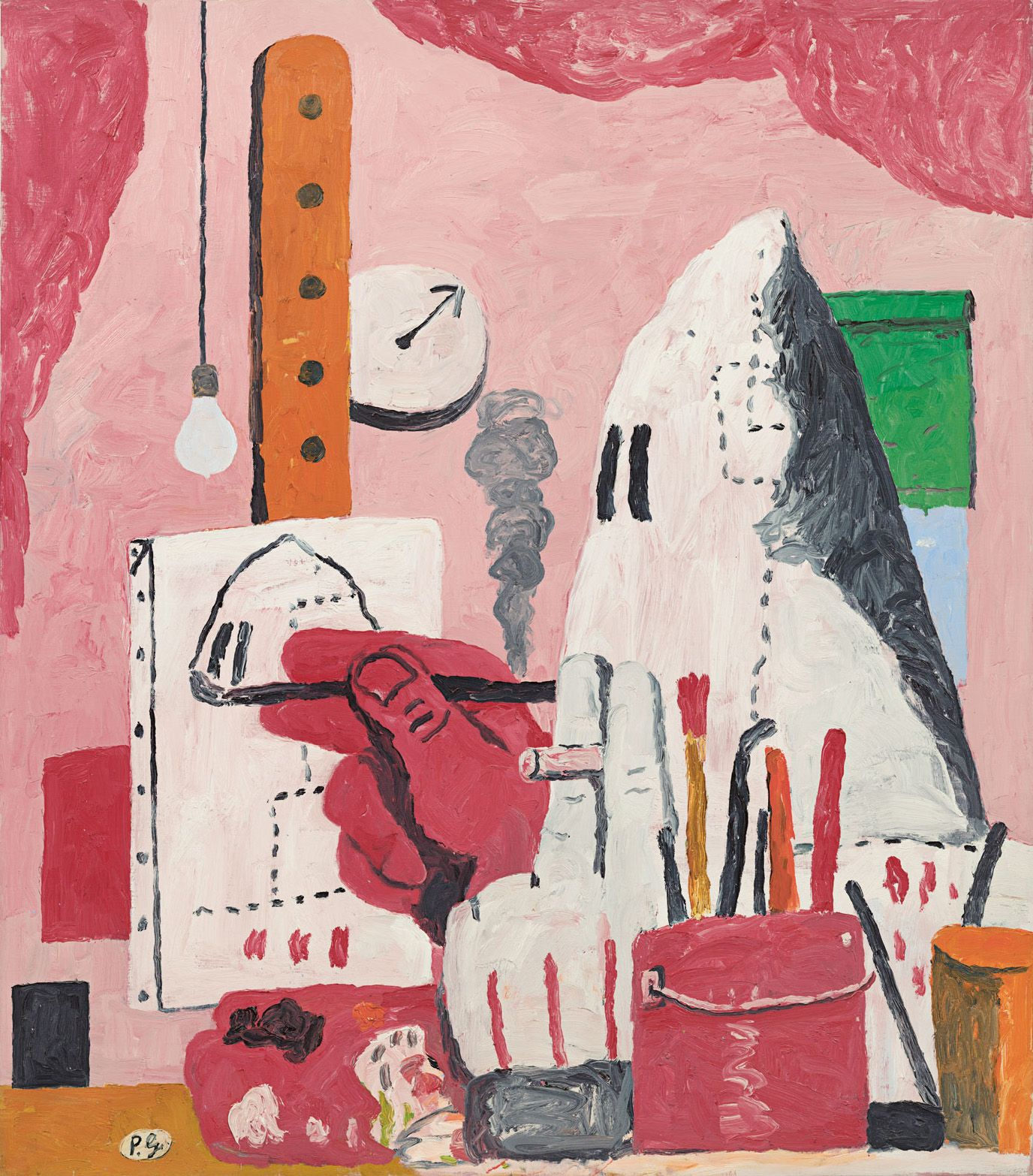 Critics, scholars—and even museum's own curator—condemn decision to postpone Philip Guston show over Ku Klux Klan imagery